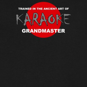 Karaoke Grandmaster - Men's V-Neck T-Shirt by Canvas