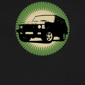 Range Rover Classic - Men's V-Neck T-Shirt by Canvas