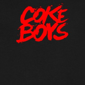 Coke Boys - Men's V-Neck T-Shirt by Canvas