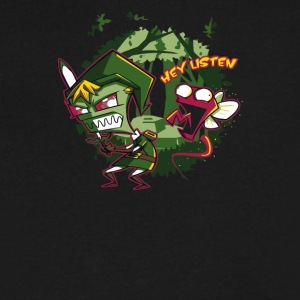 Zim Zombie - Men's V-Neck T-Shirt by Canvas