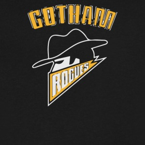 Gotham Rogues - Men's V-Neck T-Shirt by Canvas