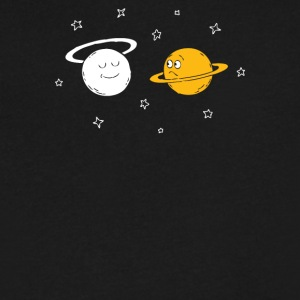 saturn - Men's V-Neck T-Shirt by Canvas