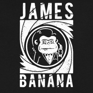 James Banana Band - Men's V-Neck T-Shirt by Canvas