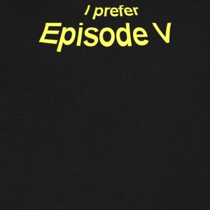 Favorite Episode - Men's V-Neck T-Shirt by Canvas