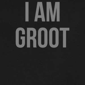 I Am Groot - Men's V-Neck T-Shirt by Canvas