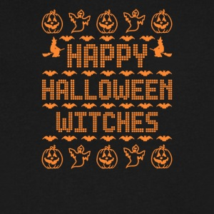 Happy Halloween Witches - Men's V-Neck T-Shirt by Canvas