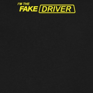 I m The Fake Driver - Men's V-Neck T-Shirt by Canvas