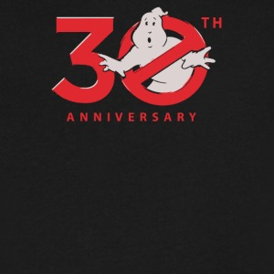 30th Anniversary Ghostbuster - Men's V-Neck T-Shirt by Canvas