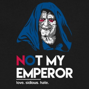 Not My Emperor - Men's V-Neck T-Shirt by Canvas