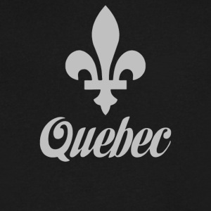 Quebec Canada - Men's V-Neck T-Shirt by Canvas