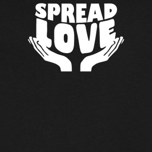 Spread Love - Men's V-Neck T-Shirt by Canvas