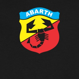 Abarth Italian Racing - Men's V-Neck T-Shirt by Canvas