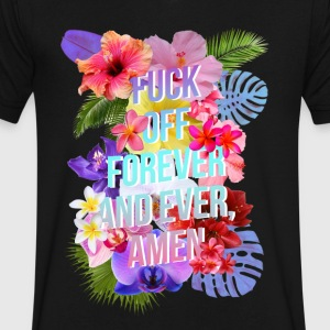 Fuck Off Forever - Men's V-Neck T-Shirt by Canvas