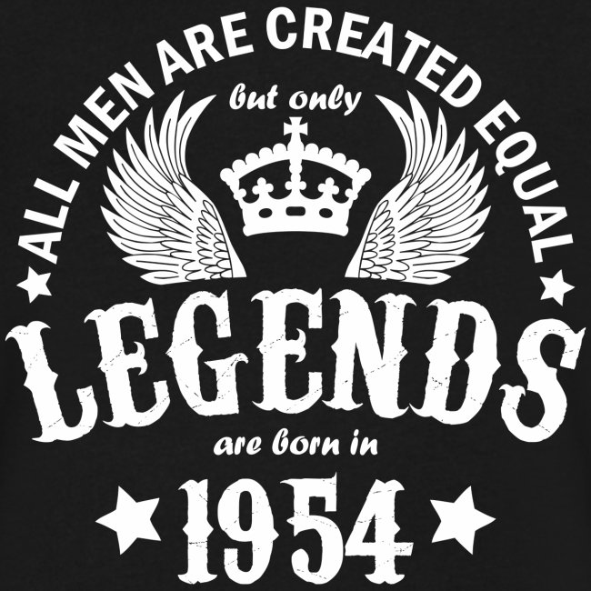 Legends are Born in 1954