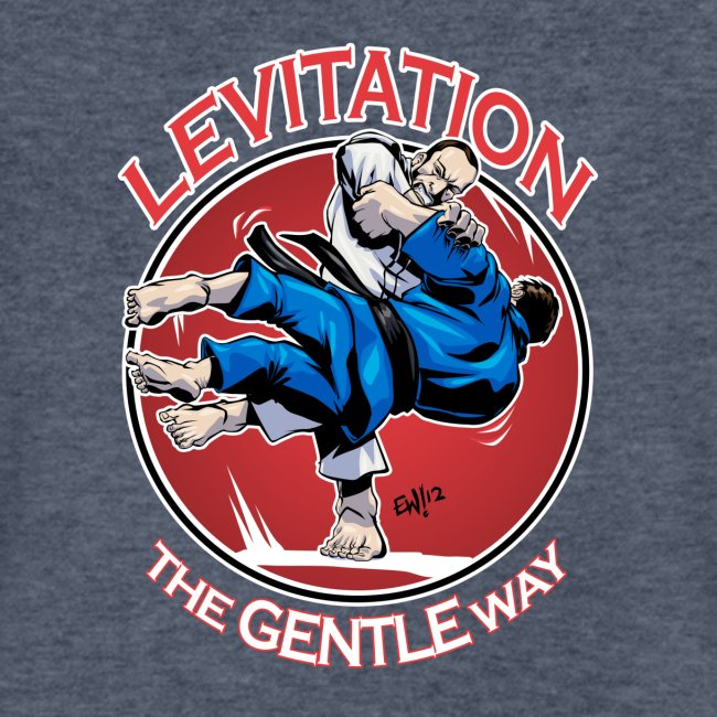 Judo Levitation for dark shirt