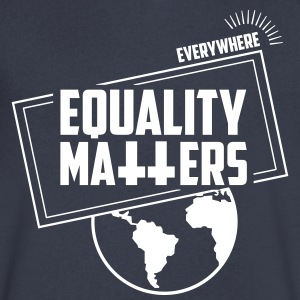 Equality Matters! Women´s day 2017! - Men's V-Neck T-Shirt by Canvas