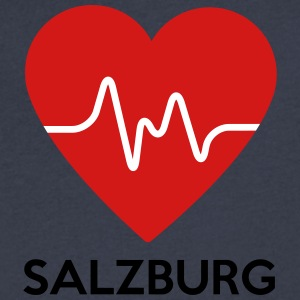 Heart Salzburg - Men's V-Neck T-Shirt by Canvas