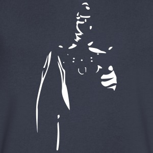 Rubber Man Wants You! - Men's V-Neck T-Shirt by Canvas