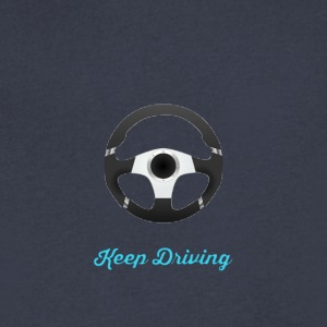 Keep Driving T-shirt - Men's V-Neck T-Shirt by Canvas