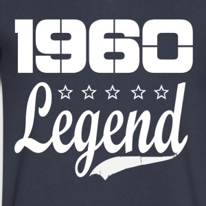 60 legend - Men's V-Neck T-Shirt by Canvas