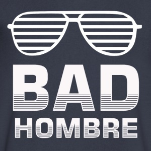 Bad Hombre - Men's V-Neck T-Shirt by Canvas