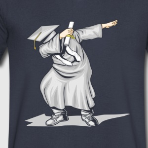 The Dabbing Graduation Class - Men's V-Neck T-Shirt by Canvas