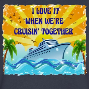 I Love It When We're Cruisin Together - Men's V-Neck T-Shirt by Canvas