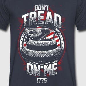 Don't Tread On Me-1776 - Men's V-Neck T-Shirt by Canvas