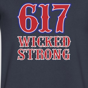 617 Wicked strong - Men's V-Neck T-Shirt by Canvas