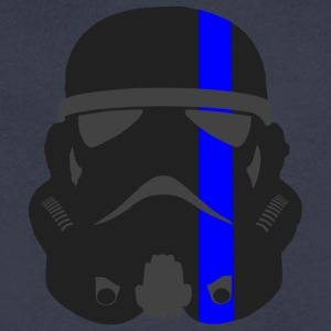 Thin Blue Line - Storm Trooper - Men's V-Neck T-Shirt by Canvas