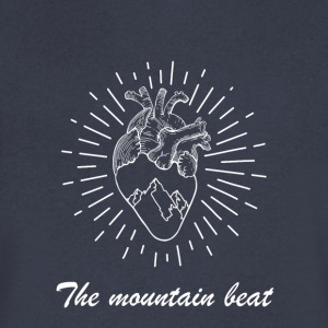 Adventure - The Mountain Beat T-shirts & Products - Men's V-Neck T-Shirt by Canvas