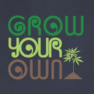 Grow Your Own Marijuana - Men's V-Neck T-Shirt by Canvas