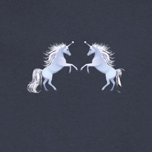 unicorns horse unicorn pony magical - Men's V-Neck T-Shirt by Canvas