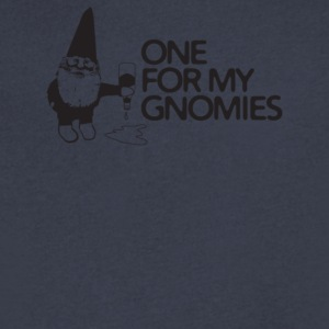 One For My Gnomies - Men's V-Neck T-Shirt by Canvas