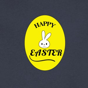 Happy Easter - Men's V-Neck T-Shirt by Canvas