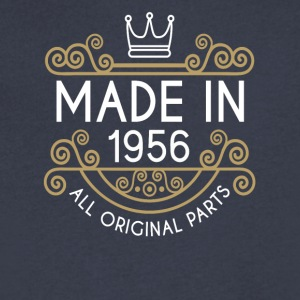 Made In 1956 All Original Parts - Men's V-Neck T-Shirt by Canvas