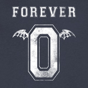 Forever 0 Rev - Men's V-Neck T-Shirt by Canvas