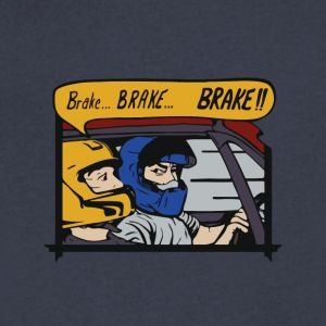 Brake brake brake!! - Men's V-Neck T-Shirt by Canvas