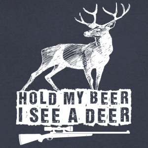 Hold my beer - Men's V-Neck T-Shirt by Canvas