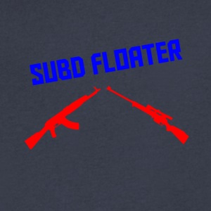 subd Floater - Men's V-Neck T-Shirt by Canvas
