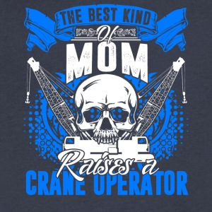 Crane Operator Mom Shirt - Men's V-Neck T-Shirt by Canvas