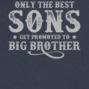 Only The Best Sons T Shirt - Men's V-Neck T-Shirt by Canvas