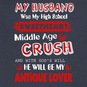 My Husband Was My High School Sweetheart - Men's V-Neck T-Shirt by Canvas