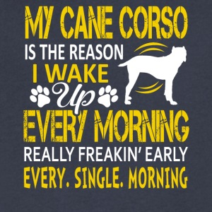 My Cane Corso Tee Shirt - Men's V-Neck T-Shirt by Canvas