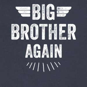 Big brother again - Men's V-Neck T-Shirt by Canvas