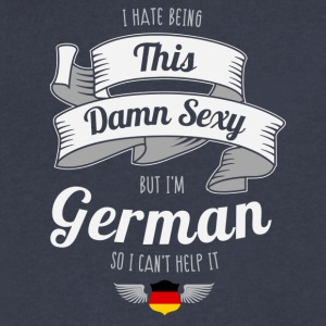 Sexy German - Men's V-Neck T-Shirt by Canvas