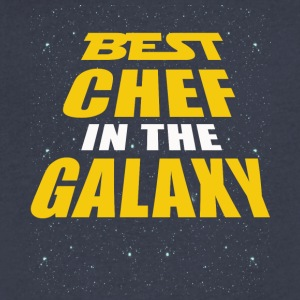 Best Chef In The Galaxy - Men's V-Neck T-Shirt by Canvas
