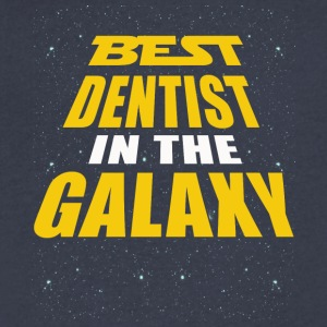 Best Dentist In The Galaxy - Men's V-Neck T-Shirt by Canvas