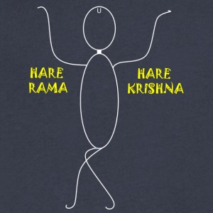 HARE RAMA HARE KRISHNA - Men's V-Neck T-Shirt by Canvas