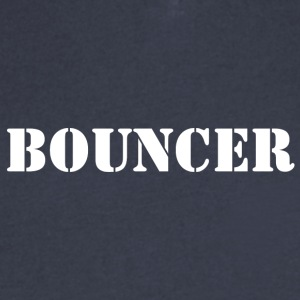 bouncer back - Men's V-Neck T-Shirt by Canvas